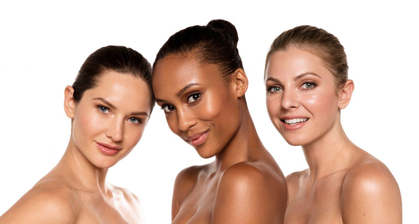 women skin type